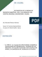 Caracterizacion de La Anemia en Pacientes Diabeticos Protocolo
