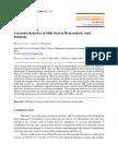 Corrosion Behavior of Mild Steel in Hydrochloric Acid Solutions