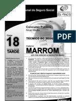 INSS_Prova_Cargo_NM_18_Caderno_Marron1