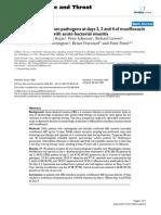 Moxifloxacina en Sinusitis Bacteriana