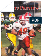 New Canaan High School Fall 2011 Sports Preview