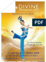 Affiche - Spectacle Des Arts Divins