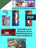 Tratamiento Magnetico del agua de riego para incrementar produccion agricola