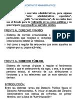 Los Contratos Administrativos II Unidad