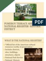 11-9-12 Pomeroy Ter Historic District Presentation