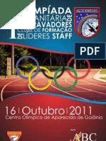 I Olímpíada Humanitária De Desbravadores do Clube de Formação de Líderes STAFF