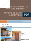 Inspeccion a Las Barracas B1