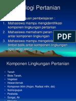 Ekologi Pertanian
