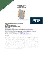 Educ 420 Bosquejo Version Agosto2010