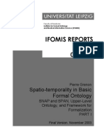 Grenon Spatio-Temporality in Basic Formal