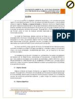 """Resumen Ejecutivo del Proyecto """"Encausamiento y protección de la quebrada Las Totoras de la Ciudad de Cariamanga"""""""