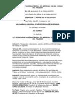 Ley442 Interpretacion Autentica Arto 236 Nic