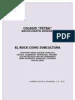 Rock Como Subcultura (Tesis)