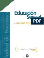 Educación Sexual en el Nivel Primario