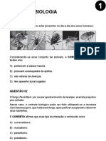 UFMG - 2010 - Etapa 1 - Caderno 1 - Biologia
