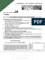 UFMG - 2010 - etapa 2 - biologia