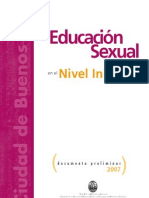 Educación Sexual en el Nivel Inicial