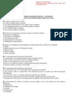 Lei 8112.90 - 20 Questões comentadas