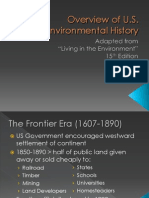 Overview of US Enviro History