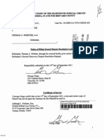 Notice of Filing_Second Dispute Resolution Letter