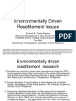 Environmentally Driven Resettlement Issues by Doracie Zoleta Nantes, Australian National University