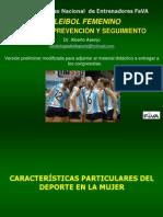 Voleibol Prevencion y Seguimiento