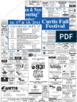 Curtis Fall Festival Poster