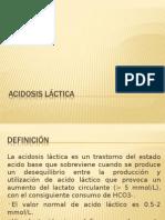 Acidosis láctica