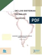 Perfil Sistema de Salud en Ecuador