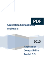 Application Compatibility Toolkit 5.5
