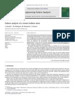 Analisis de Falla a Un Rotor de Una Turbina de Vapor