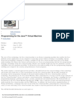 Programming for the Java Virtual Machine