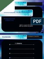 Investigacion Operativa Semana 1 - Alas Peruanas