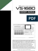 Roland vs-1680 Manual