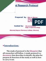 Clinical Protocol by Ekta