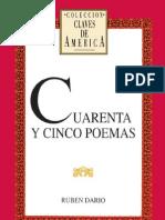 Dario Ruben - Cuarenta Y Cinco Poemas