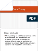 Color Theory- s&A