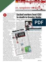 Noida CEO Murder
