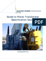EPECentre Guide to Transformer Specification Issues