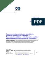 INTE ISO 3511-3-2007 Instrumentación regulación industrial, representación simbólica III