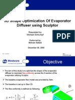 Report Evaporator Sculptor Behr 120405