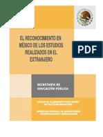 Revalidacion de Documentos Mexico