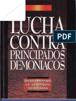 Lucha Contra Principados Demoniacos - Rita Cabezas