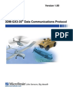 3DM GX3 35 Data Communications Protocol