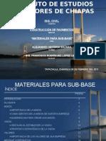 Materiales Para Sub-base