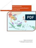 Reference Points for Digital Connectivity Within the Asean Socio-cultural Community Blueprint
