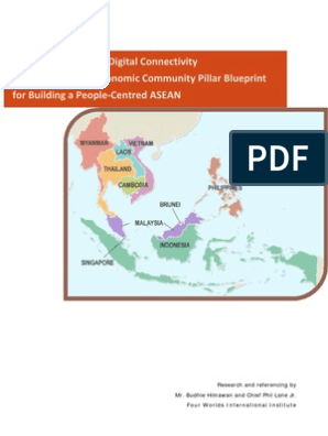 Reference Points for Digital Connectivity within the ASEAN