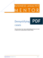 Demystifying Use Cases