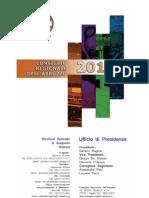 Agenda Giornalista 2010 Regione Abruzzo
