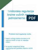 Tiristorska Regulacija Brzine Vucnih MJS